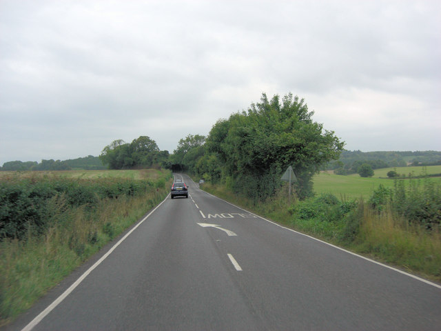 A3090 north of Juniper Bank