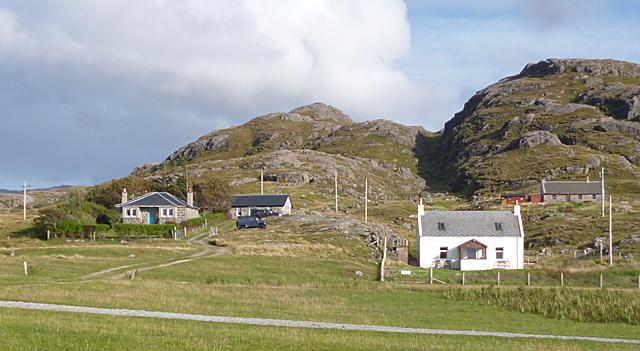 Houses at Sanna