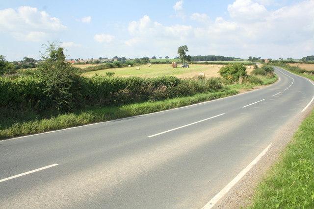 Hay baling in field south of Arrathorne