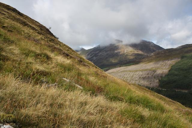 Hillside NW of Meall Ligiche