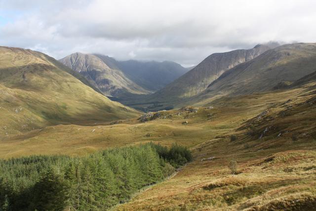 Moorland north of Meall Ligiche