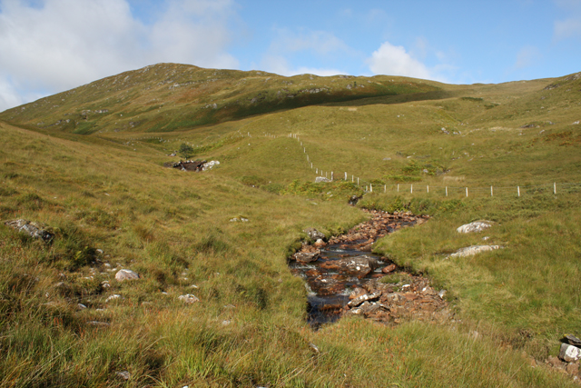 A burn south of Meall Mor