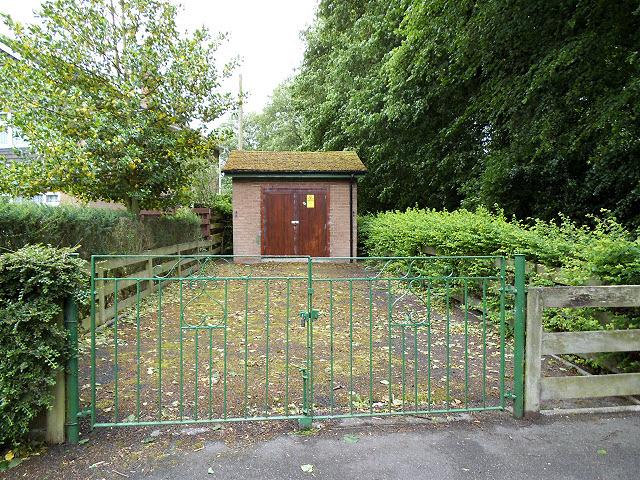 Substation on Congleton Road
