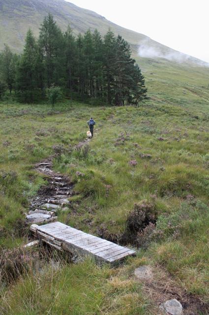 Footpath, Gleann-leac-na-muidhe