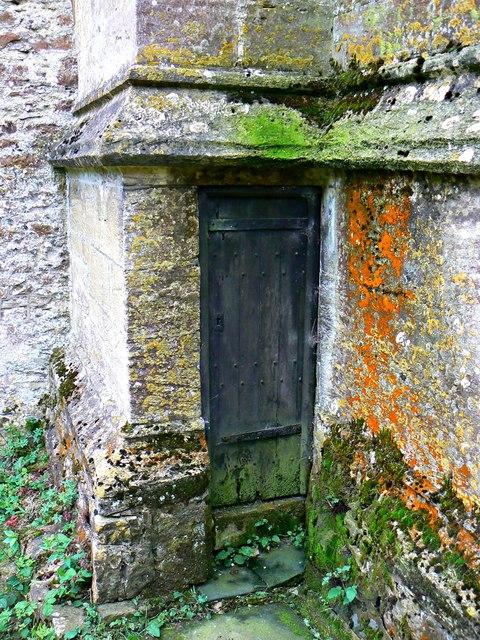 Door, St Mary's Church, Lydiard Tregoze, Swindon