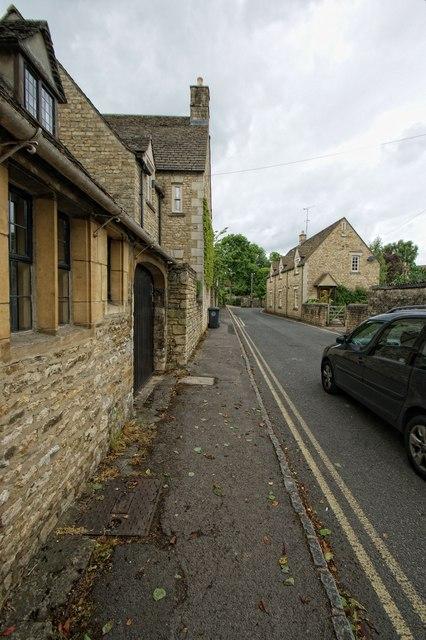 Church Lane, Burford