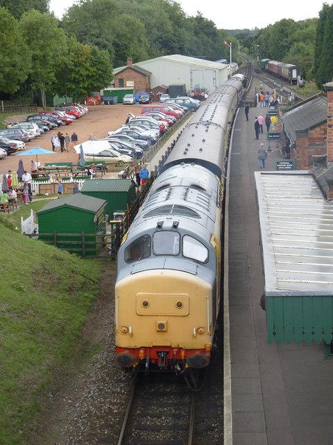 Rothley Station, Diesel Gala Weekend 2013