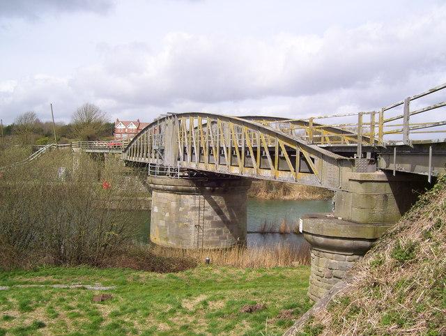 Swing bridge at Sharpness Docks