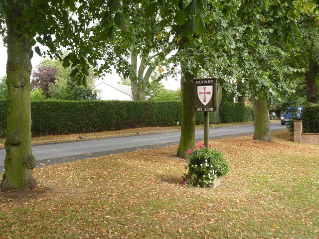 Rothley village sign