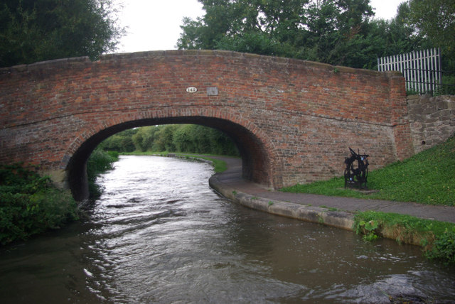 Weaver's Bridge, Shropshire Union Canal