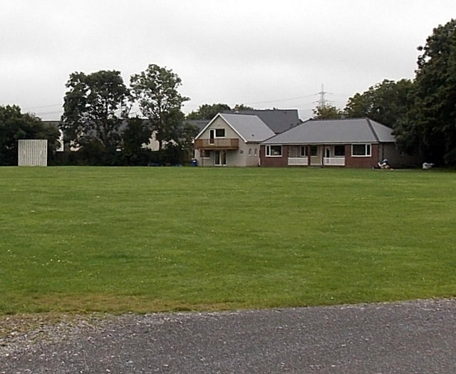 Pembroke Cricket Club pavilion