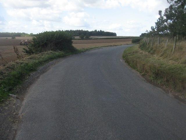 Sharp corner - Trenchard Lane