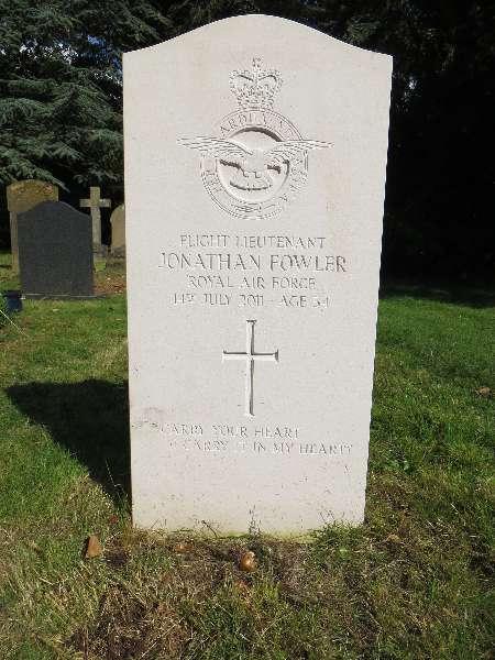 Flight Lieutenant Jonathan Fowler