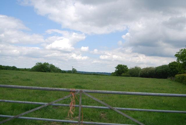 Farmland near Bourne Lane