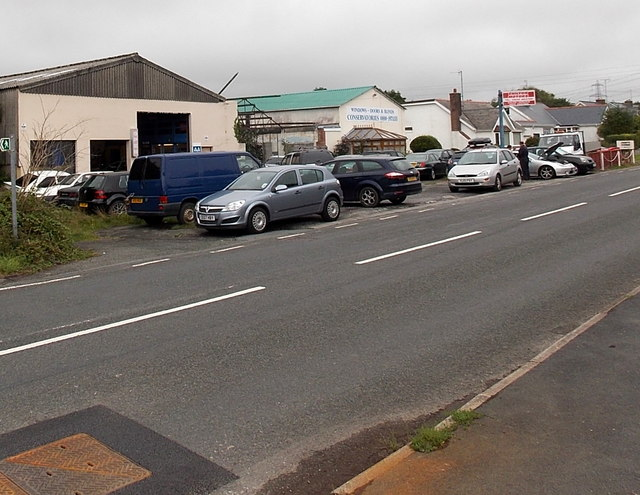 Upper Lamphey Road businesses, Pembroke
