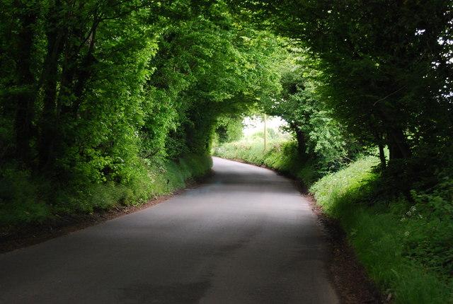 Un-named Sussex lane