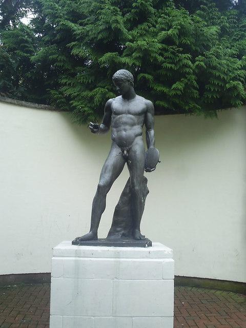 Discobolus: The Discus Thrower Sculpture