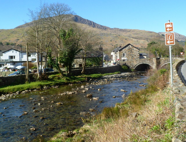 River bridge in Beddgelert