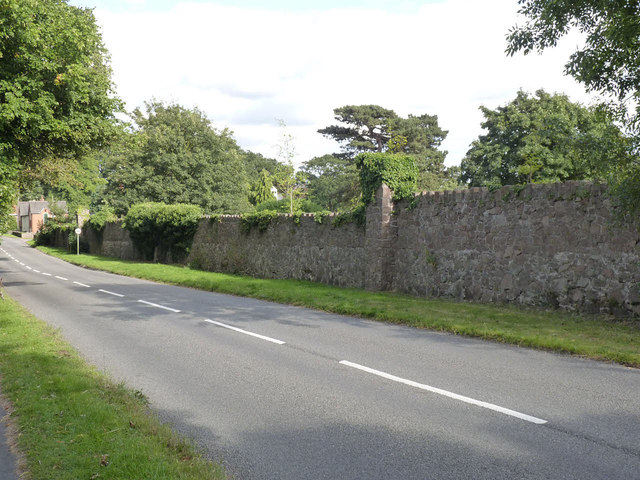 Rothley Court boundary wall