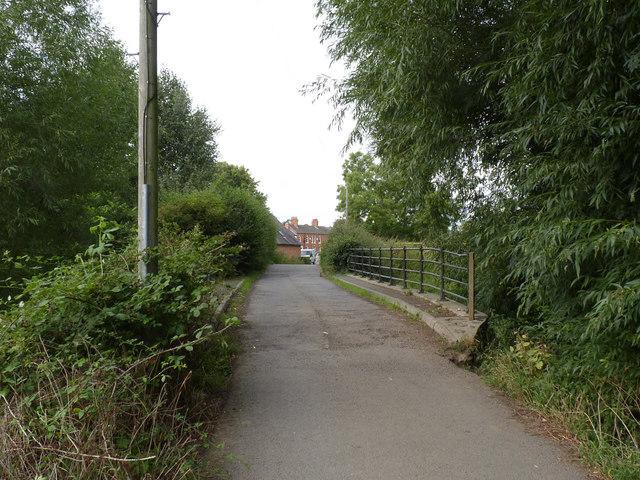 Bridge over the Rothley Brook