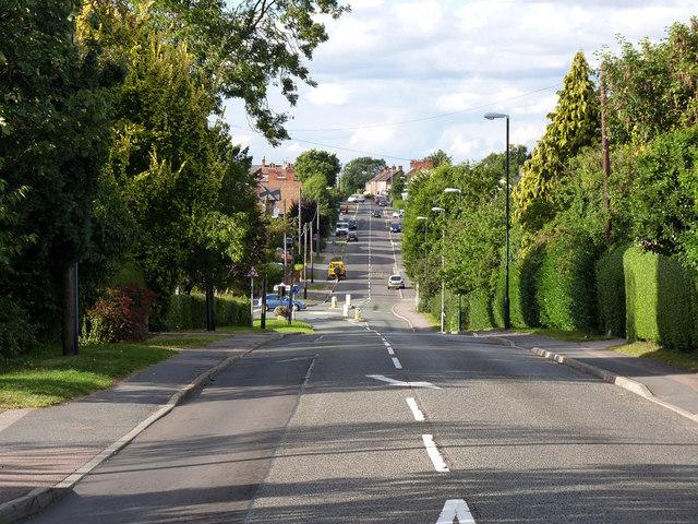 Montsorrel Lane, Rothley