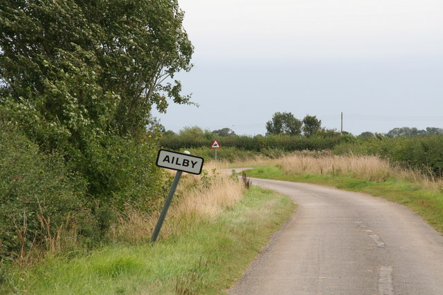 Road into Ailby