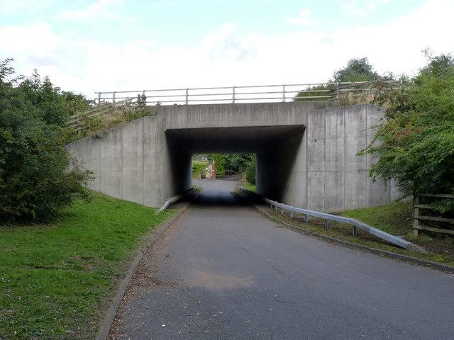 Under the A6 near Rothley