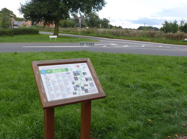 Route 1 notice board