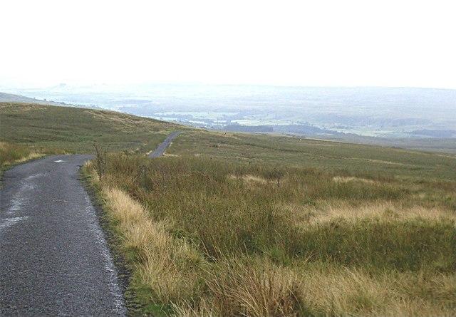 Black Hill descent near PIke Law