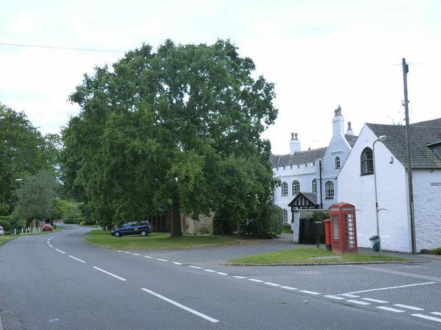 Cossington Coronation Oak, George VI
