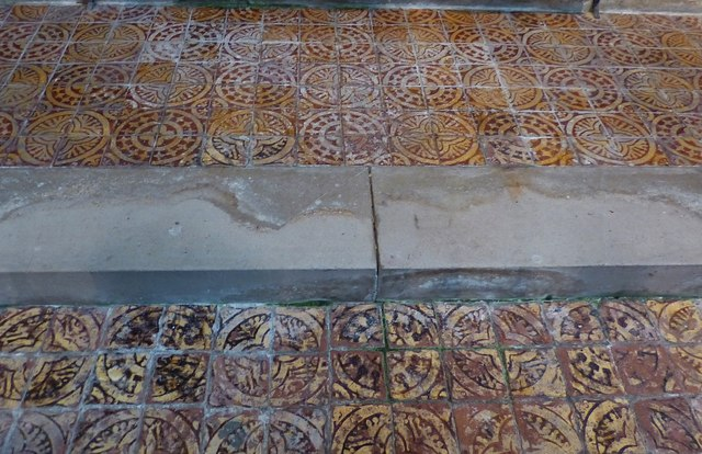 St Mary's, Apuldram - Altar Steps
