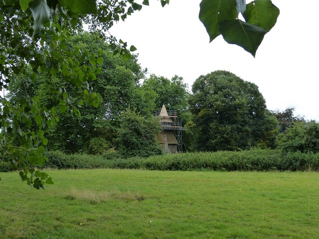 Apuldram - St Mary's from the Avenue