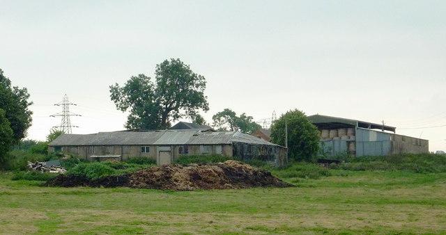 Farm buildings east of Fleckney, Leicestershire