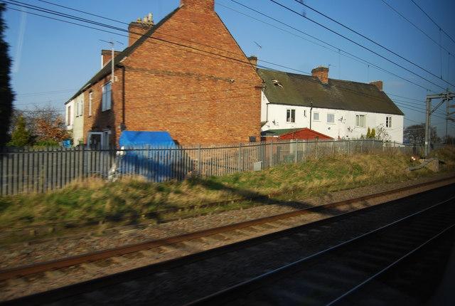 Trackside house
