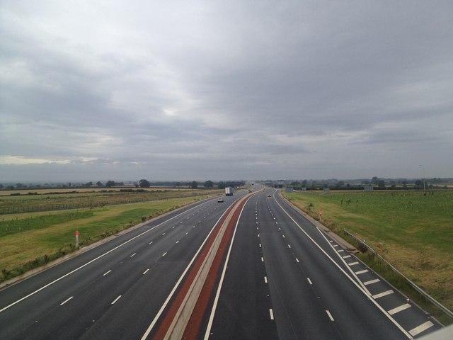 A1 near Ripon