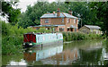 SP6594 : Canalside house north-east of Fleckney, Leicestershire by Roger  Kidd