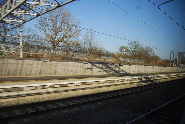 Passing through Tamworth Station