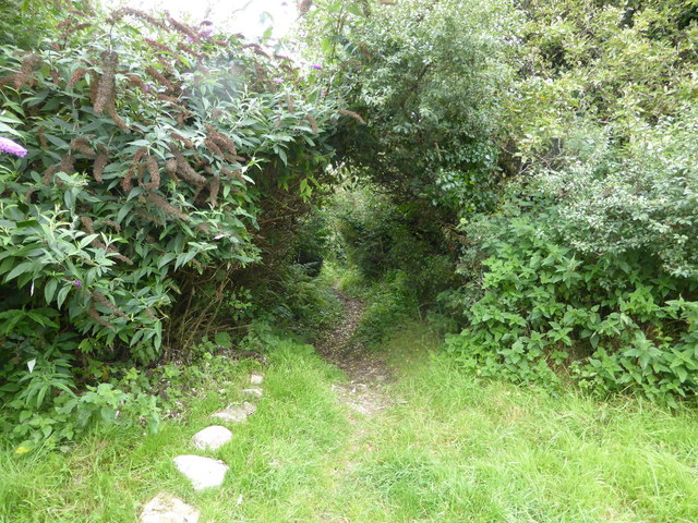 The start of the bridle path