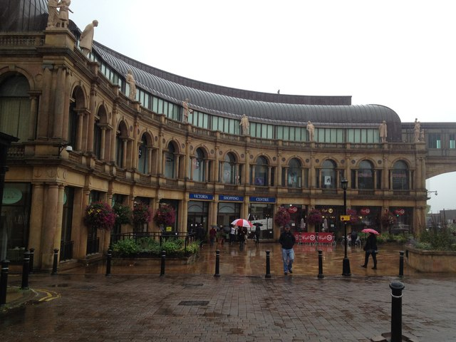 Victoria shopping centre, Harrogate