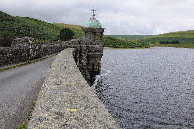 On Craig Goch Dam
