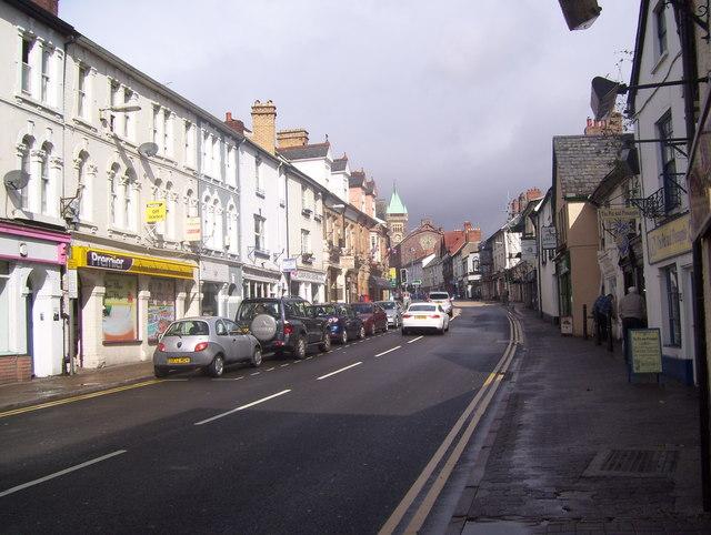 Cross Street, Abevagenny