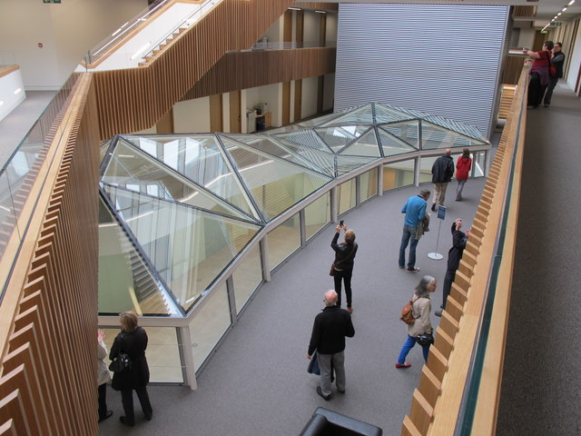 South Crystal skylight, New Mathematical Institute, Oxford