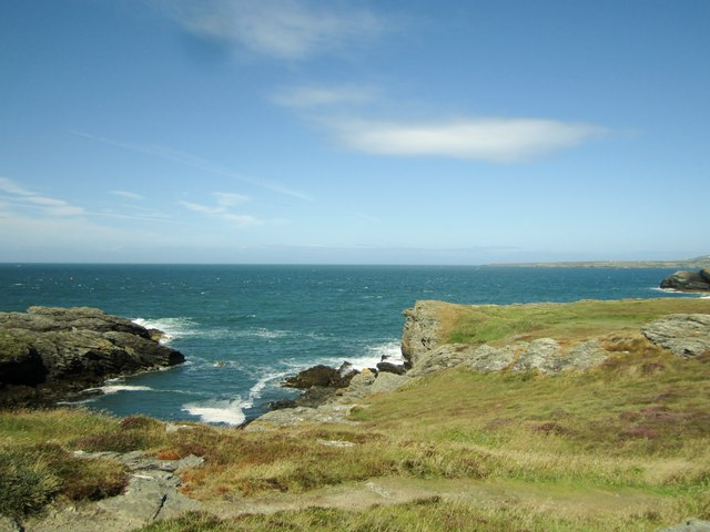 Coast path view