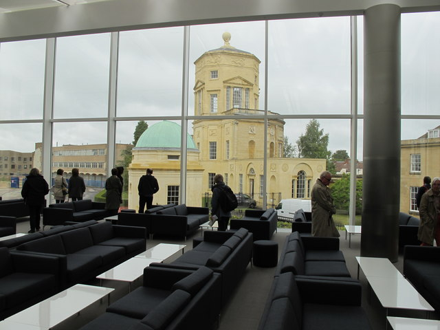 New Mathematical Institute, Oxford - common room