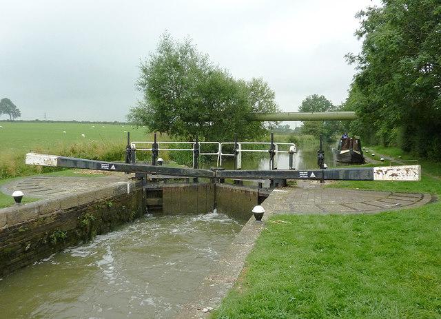 Kibworth Second Lock near Fleckney, Leicestershire