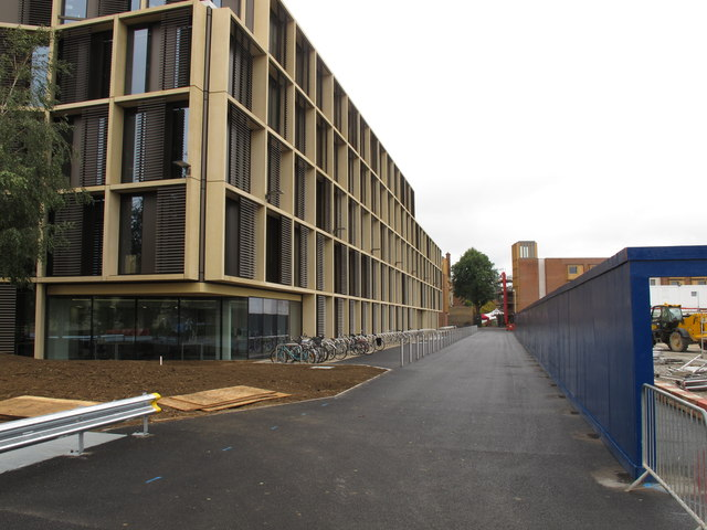 New Mathematical Institute, Oxford, view to Somerville College