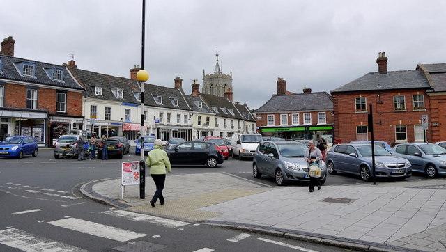 Aylsham Market Place