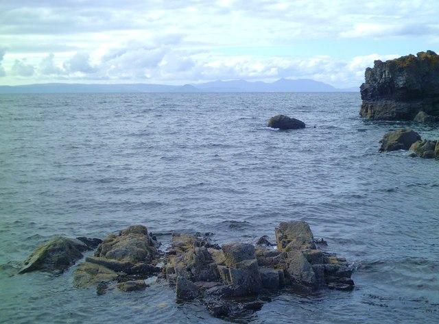 Shoreline at Dunure