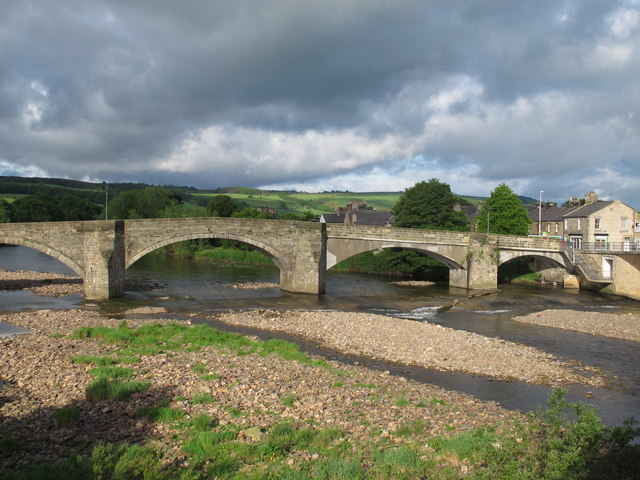 The old bridge, Haydon Bridge