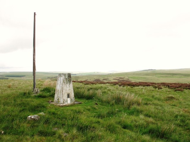Trig point on Blakeman's Law